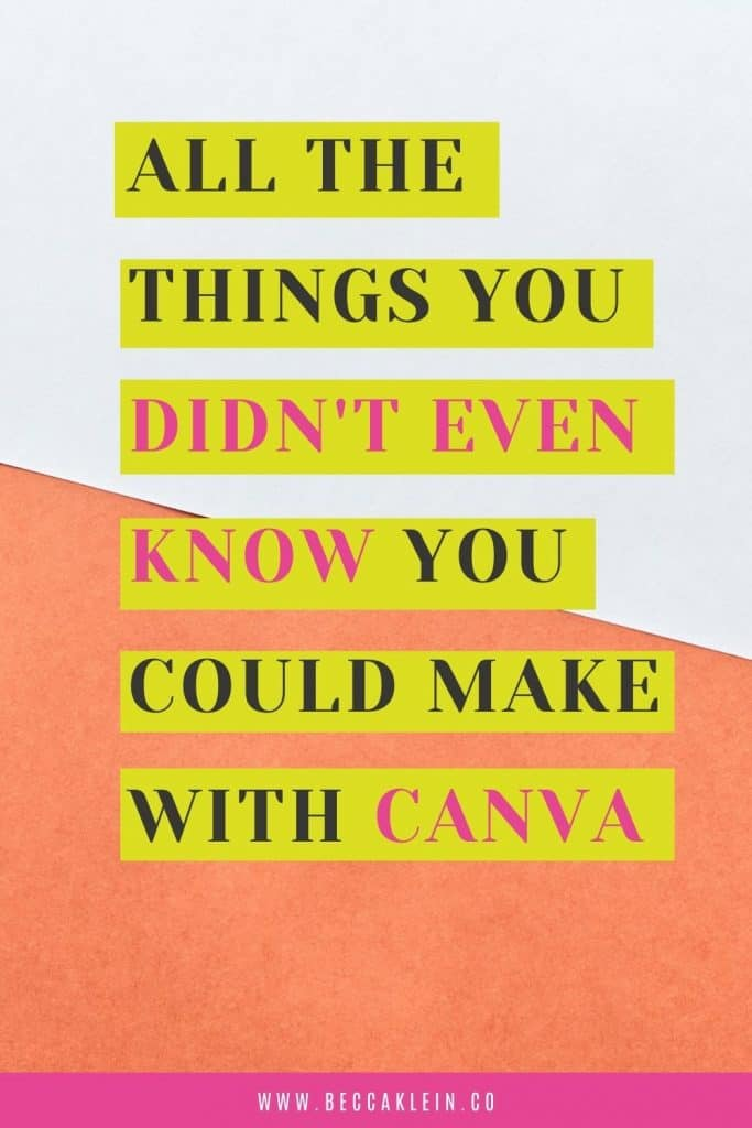 What types of graphics can you create with Canva?